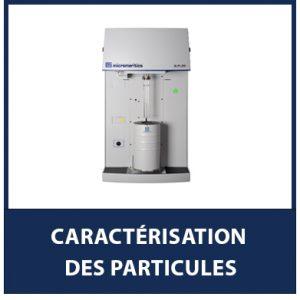 Caractérisation des Particules
