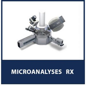 Microanalyses RX