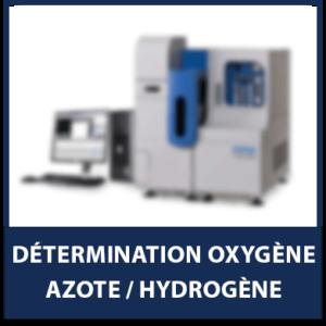 Détermination Oxygène/Azote/Hydrogène