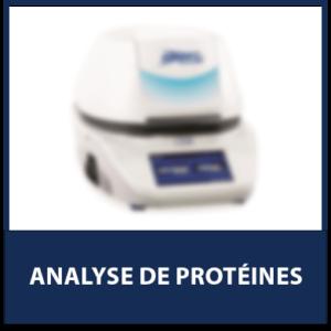 Analyse de Protéines