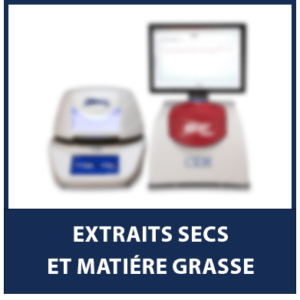 Extraits Secs & Matière Grasse
