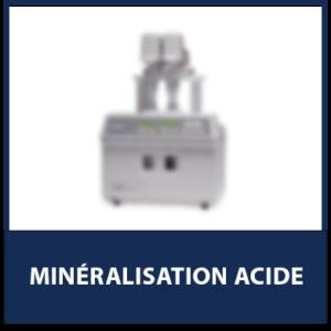 Minéralisation Acide