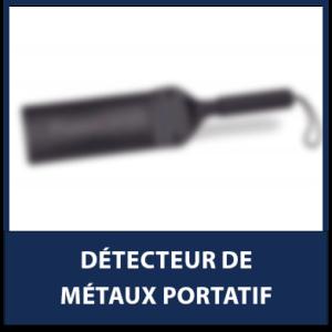 Détecteur de métaux portatif